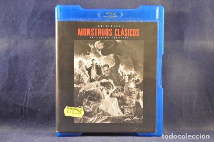 MONSTRUOS CLÁSICOS - (COLECCIÓN ESENCIAL 9 DISCOS) - 9 BLU RAY (Cine - Películas - Blu-Ray Disc)