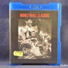 Cine: MONSTRUOS CLÁSICOS - (COLECCIÓN ESENCIAL 9 DISCOS) - 9 BLU RAY. Lote 244972990