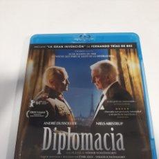Cine: BRS 47 DIPLOMACIA -BLURAY SEGUNDA MANO. Lote 245069365