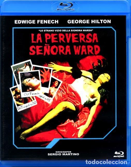 LA PERVERSA SEÑORA WARD BLU-RAY DISC PRECINTADO EDWIGE FENECH GEORGE HILTON GIALLO DE CULTO (Cine - Películas - Blu-Ray Disc)