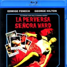 Cine: LA PERVERSA SEÑORA WARD BLU-RAY DISC PRECINTADO EDWIGE FENECH GEORGE HILTON GIALLO DE CULTO. Lote 245220305