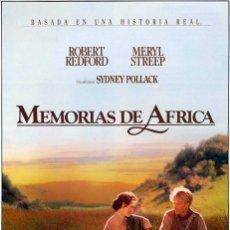 Cine: MEMORIAS DE ÁFRICA.. Lote 246171710
