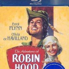 Cine: LAS AVENTURAS DE ROBIN HOOD, DE MICHAEL CURTIZ. EDICIÓN USA DE WARNER BROS. MUCHOS EXTRAS.. Lote 246188285