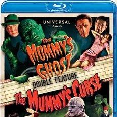 Cine: THE MUMMY'S GHOST + THE MUMMY'S CURSE. EDICIÓN UK. SUBTÍTULOS EN ESPAÑOL.. Lote 246190060