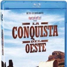 Cine: LA CONQUISTA DEL OESTE. 2 BLURAYS. DESCATALOGADA. Lote 246190845