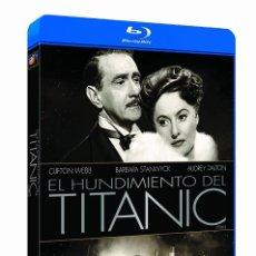 Cine: EL HUNDIMIENTO DEL TITANIC. DESCATALOGADA. Lote 246190970