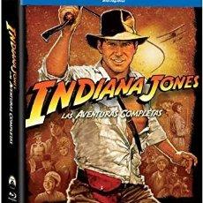 Cine: LAS AVENTURAS COMPLETAS DE INDIANA JONES. 5 DISCOS. Lote 246228190