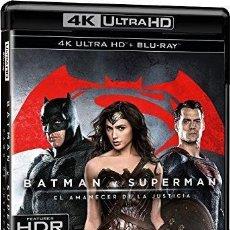 Cine: BATMAN V SUPERMAN : EL AMANECER DE LA JUSTICIA (BLU-RAY 4K ULTRA HD + BLU-RAY + COPIA DIGITAL) (BATM. Lote 246527200