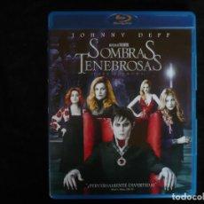 Cine: SOMBRAS TENEBROSAS - JOHNNY DEPP - BLURAY COMO NUEVO. Lote 246527775