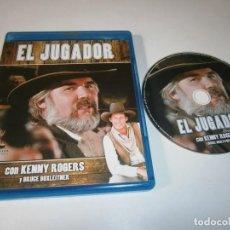 Cine: EL JUGADOR BLU RAY KENNY ROGERS. Lote 246582155