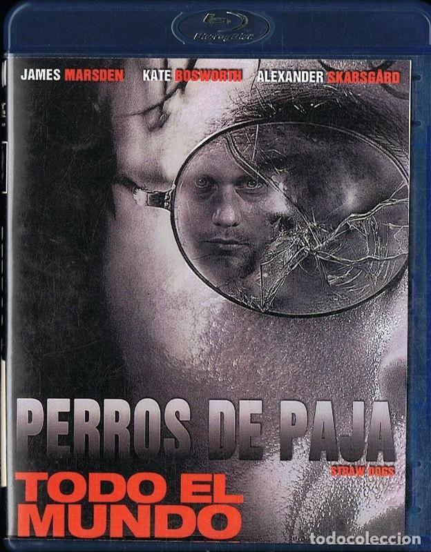 PERROS DE PAJA JAMES MARSDEN ( BLU - RAY) (Cine - Películas - Blu-Ray Disc)