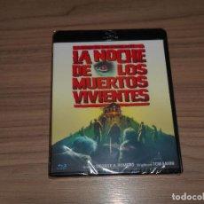 Cine: LA NOCHE DE LOS MUERTOS VIVIENTES TERROR BLU-RAY DISC + EXTRAS NUEVO PRECINTADO. Lote 261630325