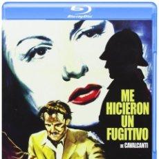 Cine: ME HICIERON UN FUGITIVO (TREVOR HOWARD, SALLY GRAY) - BLURAY NUEVO Y PRECINTADO. Lote 288922893