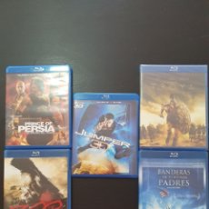 Cine: 5 DVD BLUE RAY. 1 3D. Lote 251337535