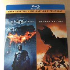 Cine: TRES PELÍCULAS DVD Y BLU-RAY DE BATMAN. Lote 252845655