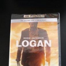 Cine: LOGAN 4K - INCLUYE LOGAN NOIR - X-MEN - BLU-RAY - HUGH JACKMAN - LOBEZNO - WOLVERINE. Lote 253207940