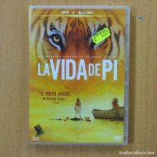 Cinéma: LA VIDA DE PI - BLURAY + DVD. Lote 253655630