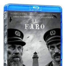 Cine: EL FARO (BD) [BLU-RAY] - WILLEM DAFOE / ROBERT PATTINSON. Lote 254213695