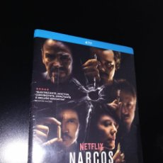 Cine: NARCOS - TEMPORADA 1 Y 2 - BLU-RAY - NETFLIX. Lote 254310040
