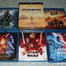 Cine: STAR WARS - LA SAGA COMPLETA !!! - 11 PELÍCULAS EN 19 BLU-RAY + LOS EWOKS PRECINTADA. Lote 254368090