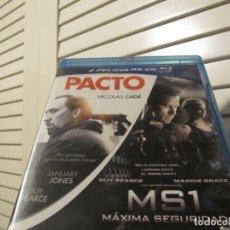 Cine: PACK DESCATALOGADO BLURAY PACTO+MS1-NICOLAS CAGE GUY PEARCE. Lote 254636980
