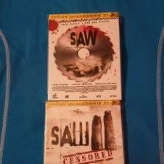 Cine: PACK SAW - SAW II CENSORED BLU-RAY EDICIÓN COLECCIONISTA BLURAY NUEVO. Lote 254752500