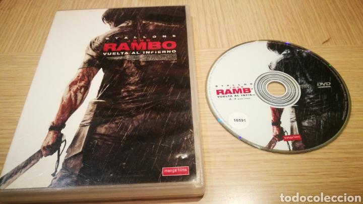 JOHN RAMBO - VUELTA AL INFIERNO - SYLVESTER STALLONE (Cine - Películas - Blu-Ray Disc)