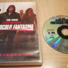 Cine: MISIÓN IMPOSIBLE - PROTOCOLO FANTASMA - TOM CRUISE. Lote 255464095