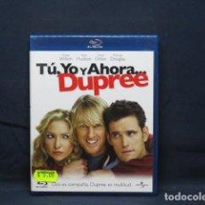 Cine: TU , YO Y AHORA .. DUPREE - BLU RAY. Lote 256020910