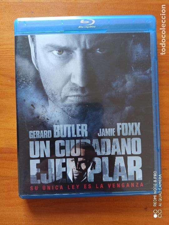 BLU-RAY + DVD UN CIUDADANO EJEMPLAR - 2 DISCOS - GERARD BUTLER (5H) (Cine - Películas - Blu-Ray Disc)