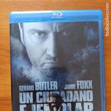 Cine: BLU-RAY + DVD UN CIUDADANO EJEMPLAR - 2 DISCOS - GERARD BUTLER (5H). Lote 256020990