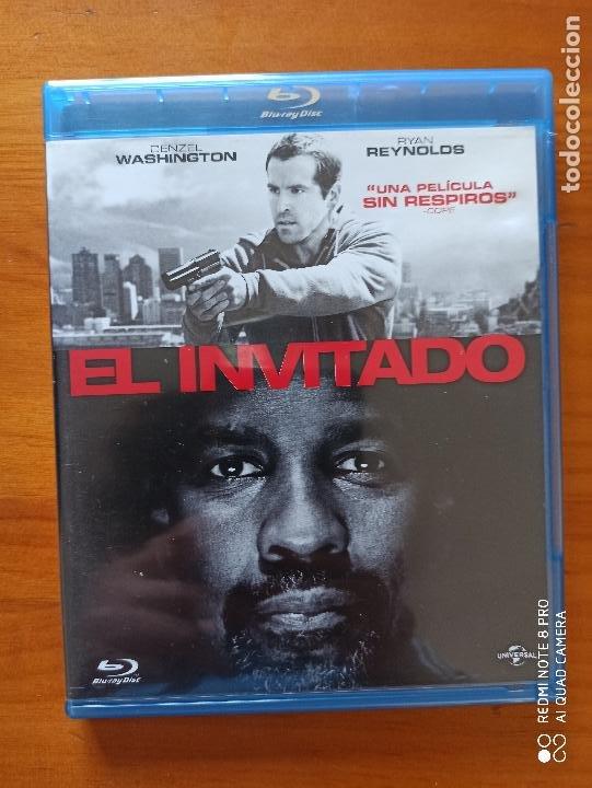 BLU-RAY EL INVITADO - DENZEL WASHINGTON, RYAN REYNOLDS (5H) (Cine - Películas - Blu-Ray Disc)