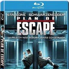 Cine: PLAN DE ESCAPE - STALLONE / SCHWARZENEGGER [BLU-RAY]. Lote 256025980
