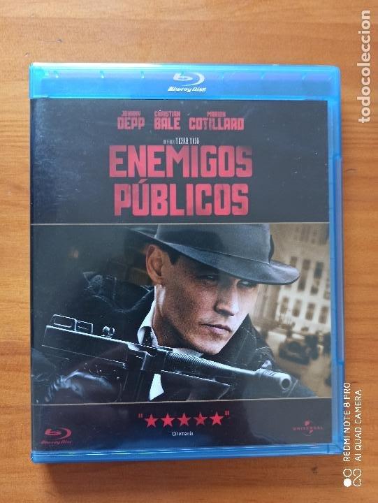 BLU-RAY ENEMIGOS PUBLICOS - JOHNNY DEPP, CHRISTIAN BALE, MARION COTILLARD (5I) (Cine - Películas - Blu-Ray Disc)
