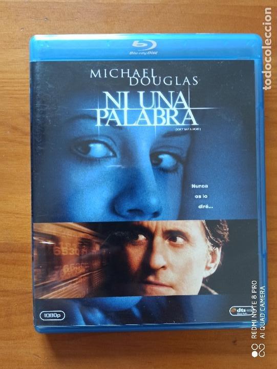 BLU-RAY NI UNA PALABRA - MICHAEL DOUGLAS (5I) (Cine - Películas - Blu-Ray Disc)