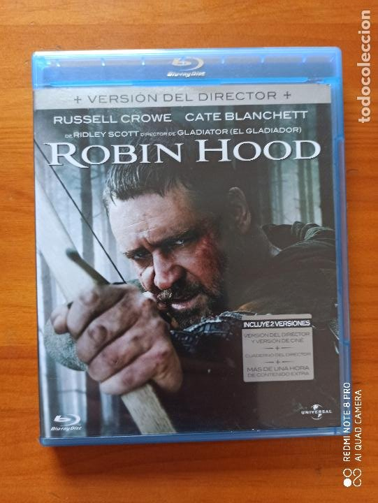 BLU-RAY + DVD ROBIN HOOD - 2 DISCOS - VERSION DEL DIRECTOR - RUSSELL CROWE (5I) (Cine - Películas - Blu-Ray Disc)