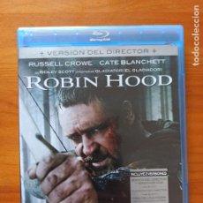 Cine: BLU-RAY + DVD ROBIN HOOD - 2 DISCOS - VERSION DEL DIRECTOR - RUSSELL CROWE (5I). Lote 256028360