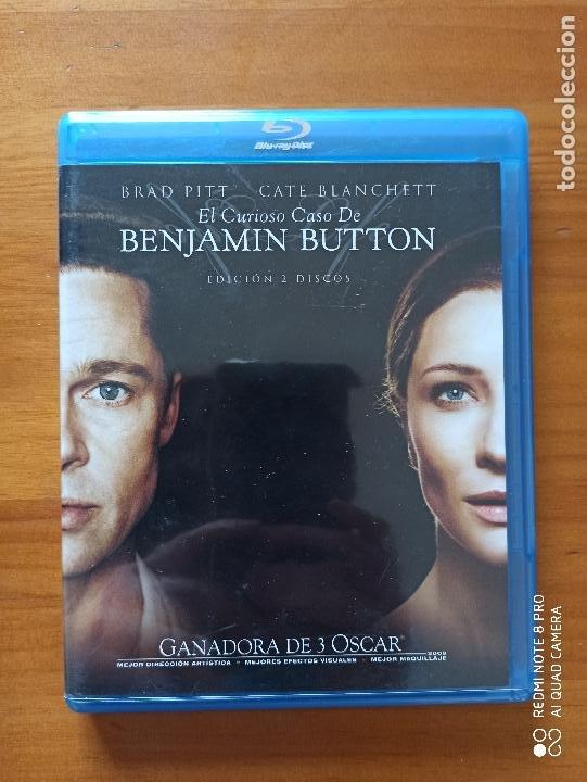 BLU-RAY EL CURIOSO CASO DE BENJAMIN BUTTON - EDICION 2 DISCOS - BRAD PITT (5I) (Cine - Películas - Blu-Ray Disc)