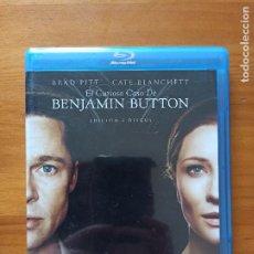 Cine: BLU-RAY EL CURIOSO CASO DE BENJAMIN BUTTON - EDICION 2 DISCOS - BRAD PITT (5I). Lote 256028980
