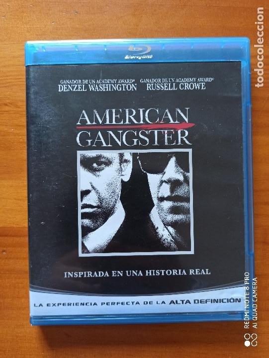 BLU-RAY AMERICAN GANGSTER - DENZEL WASHINGTON, RUSSELL CROWE (5I) (Cine - Películas - Blu-Ray Disc)