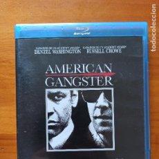 Cine: BLU-RAY AMERICAN GANGSTER - DENZEL WASHINGTON, RUSSELL CROWE (5I). Lote 256029295