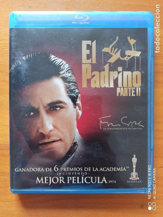 BLU-RAY EL PADRINO - PARTE II (5I) (Cine - Películas - Blu-Ray Disc)