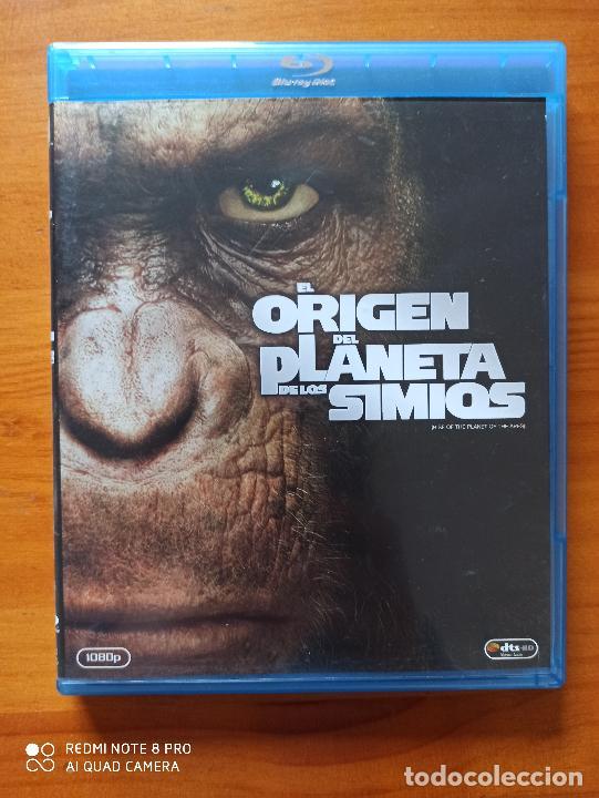 BLU-RAY EL ORIGEN DEL PLANETA DE LOS SIMIOS (5J) (Cine - Películas - Blu-Ray Disc)