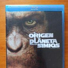 Cine: BLU-RAY EL ORIGEN DEL PLANETA DE LOS SIMIOS (5J). Lote 256030715