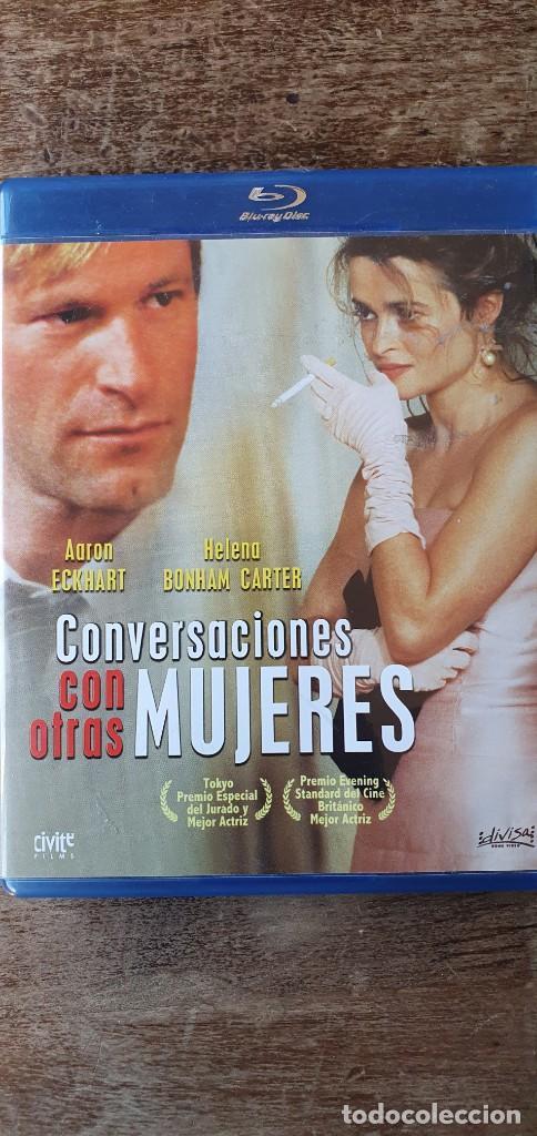 CONVERSACIONES CON OTRAS MUJERES. AARON ECKHART, HELENA BONHAM CARTER, OLIVIA WILDE (Cine - Películas - Blu-Ray Disc)