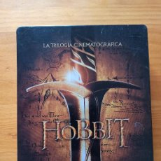 Cine: BLU-RAY EL HOBBIT - LA TRILOGIA CINEMATOGRAFICA - CAJA METALICA - 6 DISCOS (5J). Lote 256031980