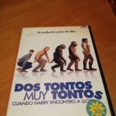 Cine: DOS TONTOS MUY TONTOS CUANDO HARRY ENCONTRÓ A LLOYD DVD. Lote 256064090