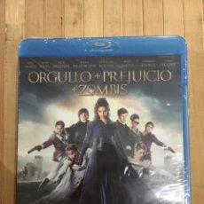 Cinéma: ORGULLO + PREJUICIO + ZOMBIS BLURAY - PRECINTADO -. Lote 257317210