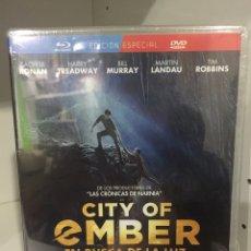 Cinéma: CITY OF EMBER EN BUSCA DE LA LUZ BLURAY + DVD - PRECINTADO -. Lote 260115880