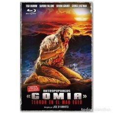 Cine: GOMIA + TERROR SIN LIMITE BLURAY EDICIÓN COLECCIONISTA. Lote 261943425
